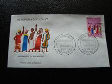 MADAGASCAR - enveloppe 9/12/74 - fokonolona - yt n° 550 - (cy9)