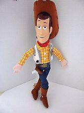 """Toy Story SHERIFF WOODY Cowboy Plush Stuffed Doll Disney Store  16 """" Tall"""