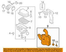 HYUNDAI OEM 12-14 Accent Air Cleaner Intake-Resonator Assy 281901R000