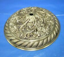 LARGE   Vintage CHANDELIER   LAMP  CAP   Brass  CENTER   PART