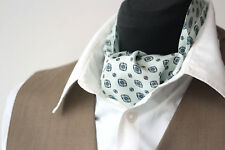 997a8351e690 Men's Cravat Ascot Mens Tie Printed Silk Day Cravat Ascot 001 Mens Tie