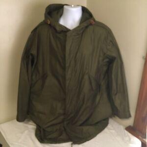Vtg M-1951 M-51 M51 Fishtail Parka Wool Blend Liner Medium Korean War Era FS!