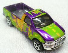 1996 HOT WHEELS-Diecast Purple '97 Ford F-150 Pick-Up Truck-Malaysia LN