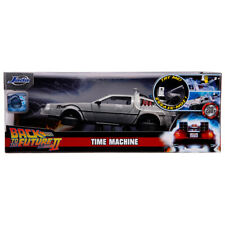 Jada Toys Back To The Future Part II DeLorean Time Machine Die-Cast Model 1:24