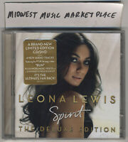 Leona Lewis - Spirit - Deluxe Limited Edition CD+DVD - New Sealed w Hype Sticker
