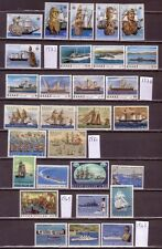 GREECE GREEK SHIPS FIVE COMPLETE SERIES MNH LOOK
