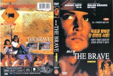 THE BRAVE (1997) - Johnny Depp, Marlon Brando, Marshall Bell  DVD NEW
