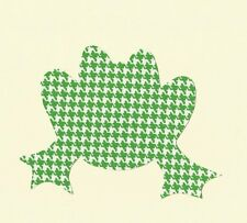 Frog Iron On Fabric Applique