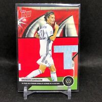 2020 TOPPS NOW MLS BRENDEN AARONSON #21 ROOKIE 1st Soccer Card UNION HOT PR /849