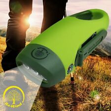 Re-Wind DSP3075 Wind-Up ECO Friendly Pocket LED Adventure Torch Flashlight