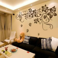 DIY Removable Butterfly Flower Vinyl Decal Art Mural Room Decor Wall Sticker