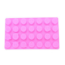 Emoji Funny Face DIY Silicone For Cakes Chocolate Sugar Candy Soap Baking Moulds