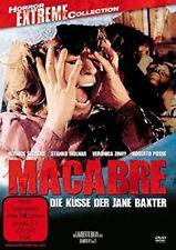 LAMBERTO BAVA Macabre Die BESOS der Jane Baxter GIALLO Sin Cortes DVD bernice