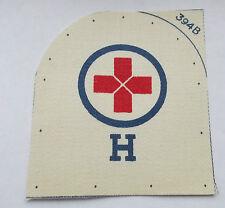royal navy red cross  H  medical  printed rank trade badge