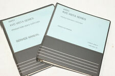 AMPEX AVC Vista Series Service & Operation Manual for Production Video Switcher