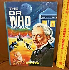FIRST EVER DR WHO ANNUAL!!! VINTAGE 1965 WILLIAM HARTNELL BBC TV BOOK HB UK EXC!