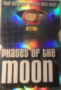 Hallmark Birthday Card Phases I Have The Moon Vulgar Humor Silver