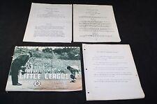 1966 LITTLE LEAGUE BASEBALL MANUAL GUIDE HANDBOOK BY LAWS LOT PLATTSBURGH NY