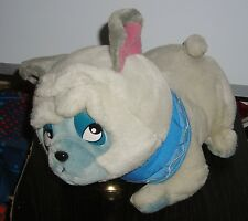 "DISNEYLAND POCAHONTAS PERCY THE PUG 12"" PLUSH TOY ROTATING HEAD"