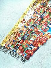lot Cartoon simba Neck Straps Key Chains Lanyard ID Holder