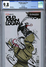 Old Man Logan #19 (2017) Marvel CGC 9.8 White Pages Venomized Variant