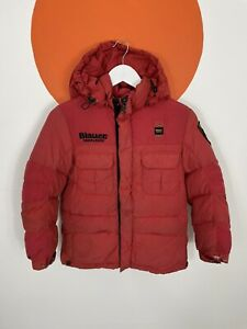 Blauer Suffolk County Search and Rescue Down Filled Hooded Puffer UK Size 10