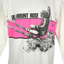 Ski Mount Rose T Shirt Vintage 80s Lake Tahoe Downhill Skiing Made In USA Medium