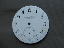 IWC SCHAFFHAUSEN PORCELAIN pocket watch dial 45 mm