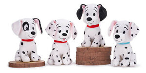 BRAND NEW DISNEY 101 DALMATIONS PLUSH 12INCH SOFT TOY LUCKY ROLEY PATCH PENNY