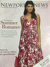 YAMILA DIAZ Summer 2008 NEWPORT NEWS Fashion Catalog VERONICA VAREKOVA