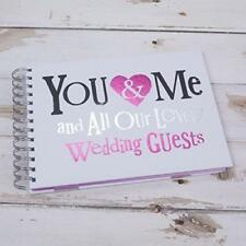 Bright Side You And Me You & Me All Our Lovely Wedding Guests Book