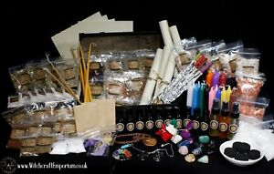 The Supreme Witch Spell kit set of Herbs,Candles,oils,Wiccan,Pagan,witchcraft