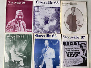 LEGENDARY JAZZ MAGAZINE 'STORYVILLE' ISSUES 62 TO 66, 1976 COMPLETE!