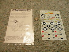 Microscale  decals 1/48 48-1 P-51 Mustang Aces   N142