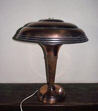 SUPERBE ART DECO LAMPE DE BUREAU CHAMPIGNON 1930 ???
