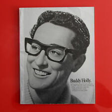 BUDDY HOLLY • a biography in words and pictures • Songbook • wise publications