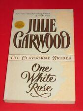 Ewm* SALE : JULIE GARWOOD ~ ONE WHITE ROSE