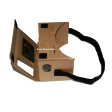Google Cardboard 3D ready To Go Virtual Reality Glasses For Android or iPhone
