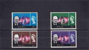 Fiji 1966 Churchill Commemoration SG 345/8 Mint Unhinged