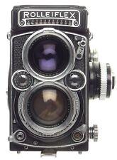 Rolleiflex 2.8F TLR camera Zeiss Planar 2.8/80mm lens case strap flash dream kit