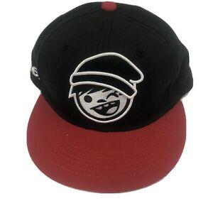 Neff Mens Baseball Cap Flat Brim Snapback Embroidery Adjustable Hat Like New