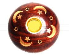 Celestial Incense Burner Wooden Incense Sticks-Cones Incense Holder NEW {:-)