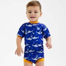 Splash About Happy Nappy - Baby Swimwear - Swim Nappy - Shark Orange Wetsuit