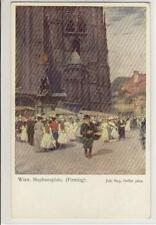 AK Wien I, Stephansplatz, Firmtag, 1920