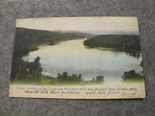 1906 Willimansett fr postcard  -Connecticut river @ Holyoke Massachusetts