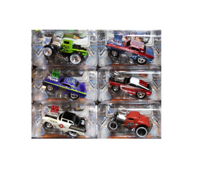 Maisto Muscle Machines New 2012 Set of 6, Chevy, 33 Ford ,Plymouth 1/64