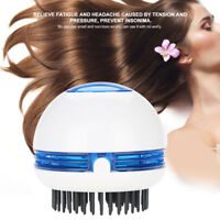 Electric Head Massager Anti-Static Scalp Relaxation Stress Relief Hair Scrubber