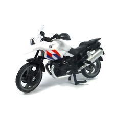 """Siku 1049 BMW R1200 GS Moto """" Politie Nouvelle Zélande """" Blanc/Bleu"""