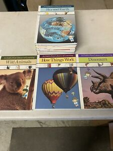 A CHILD'S FIRST LIBRARY OF LEARNING Time-Life Set of 10 HC