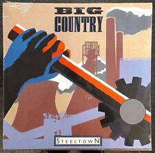 Big Country Steeltown 1984 SEALED GERMAN LP